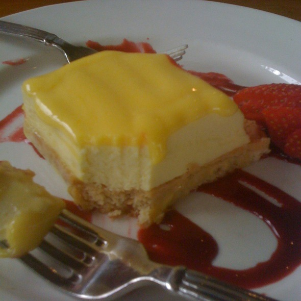 Lilikoi Cheesecake @ Roy's Ko' Olina