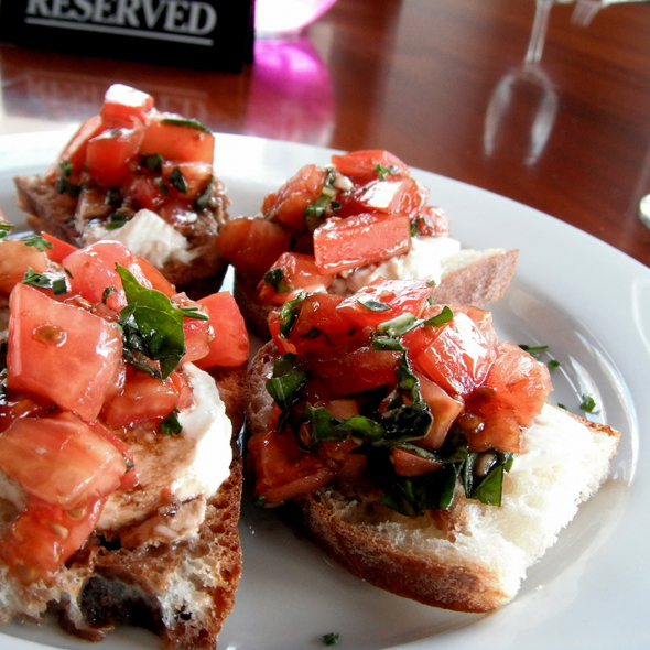 boccocini bruschetta @ Z Cafe & Bar