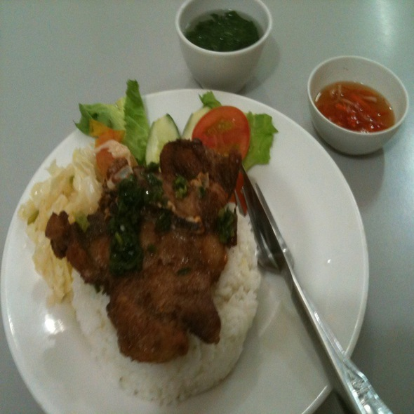 Pork Chop Rice