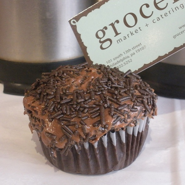 Ancho-Chocolate Cake Cupcakes @ Grocery