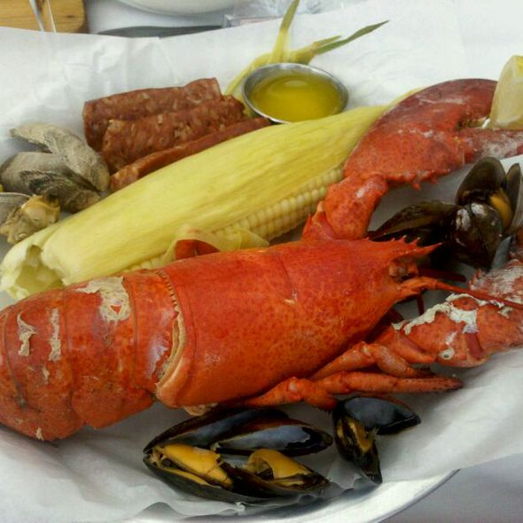 Whole Maine Lobster @ Sam's Chowder House