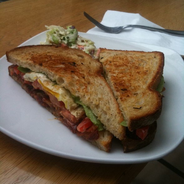 B.E.L.T. (Bacon, Egg, Lettuce, And Tomato) @ Lovejoy Bakers