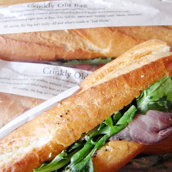 Roast Beef Sandwich @ Pret A Manger