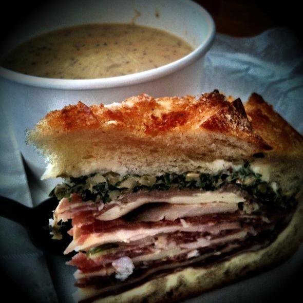 Muffaleta Sandwich @ Baguettes