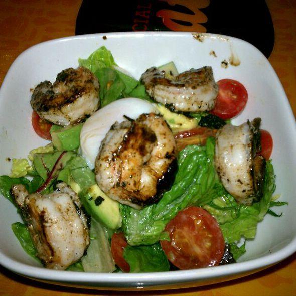 Shrimp Chop-Chop Salad W/ Tangerine Vinaigrette @ Social Eatz