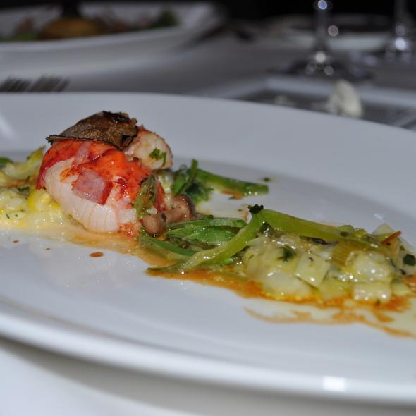Butter-Poached Lobster @ L'Espalier