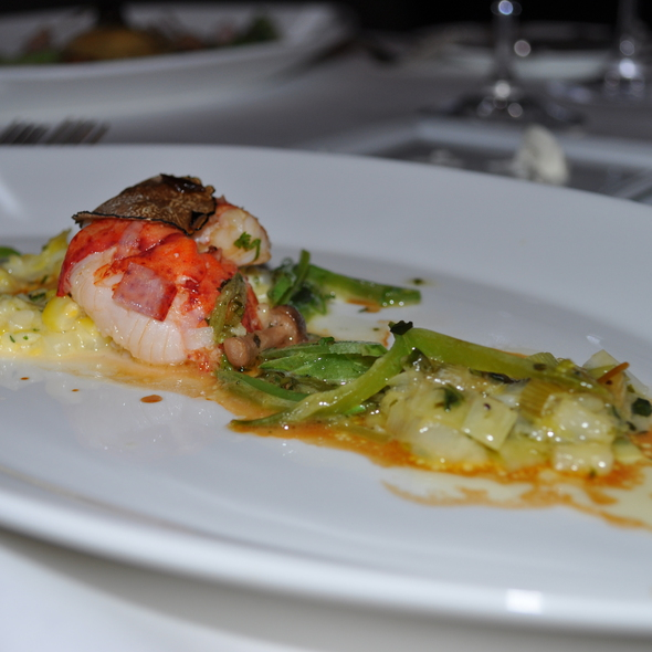 Butter-Poached Lobster @ L'Espalier