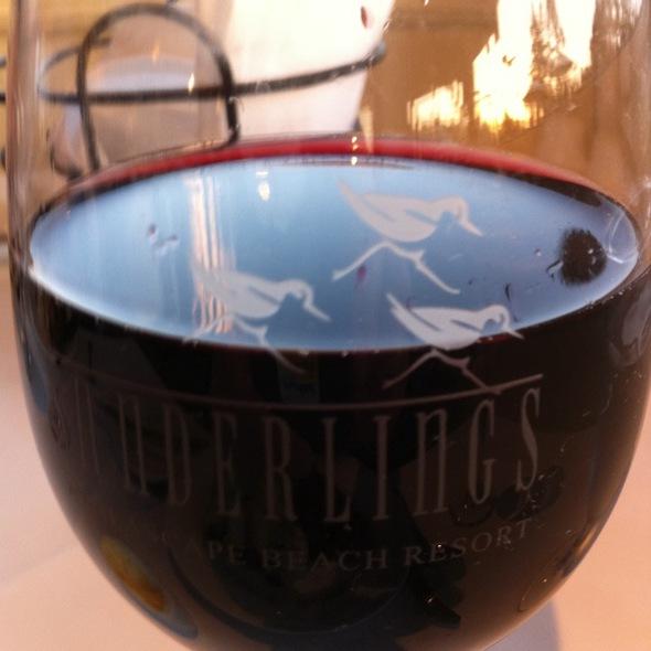 House Red Wine - Sanderlings - Seascape Resort, Aptos, CA