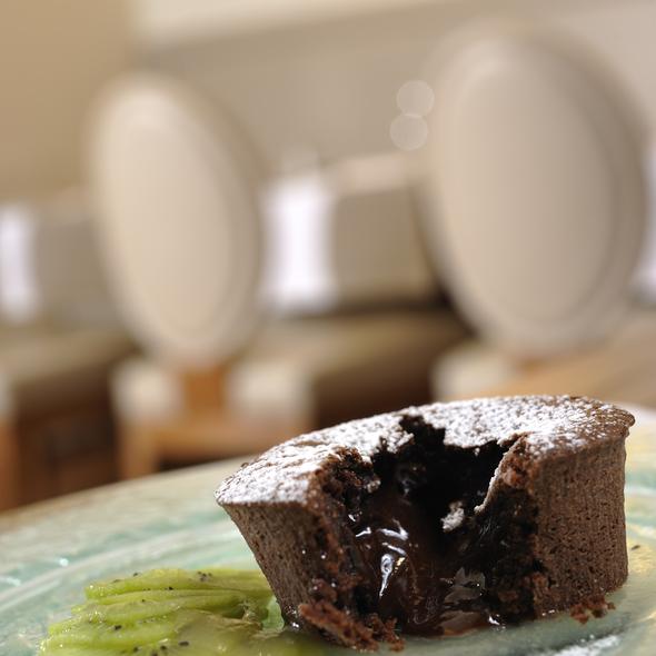 Chocolate Flan @ Ristorante 1556