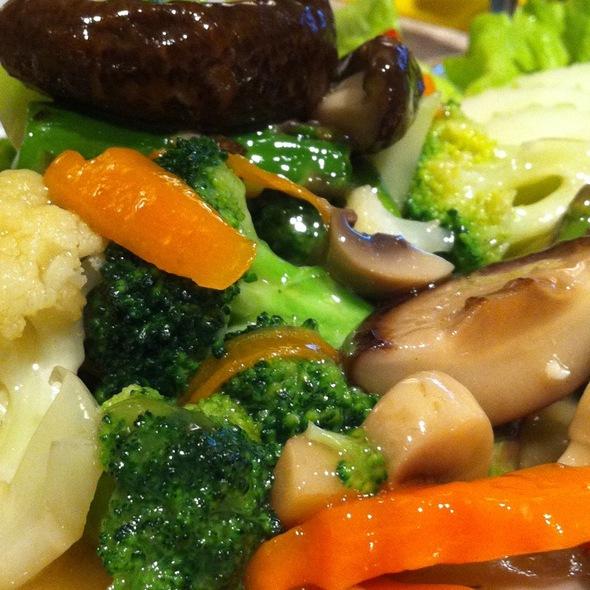 Verduras Salteadas @ Thai Gracia