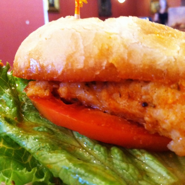 Grouper Sandwich @ Between the Bread Cafe