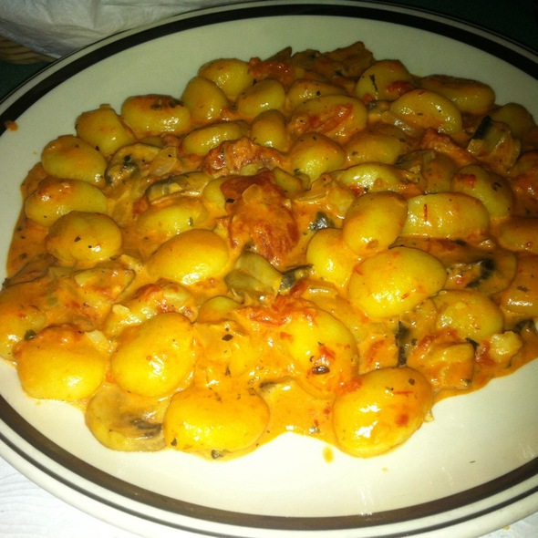 Gnocchi @ Volare Italian Restaurant