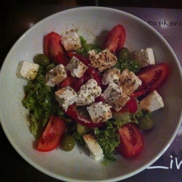 Greek Salad @ Euphoria Biergarten
