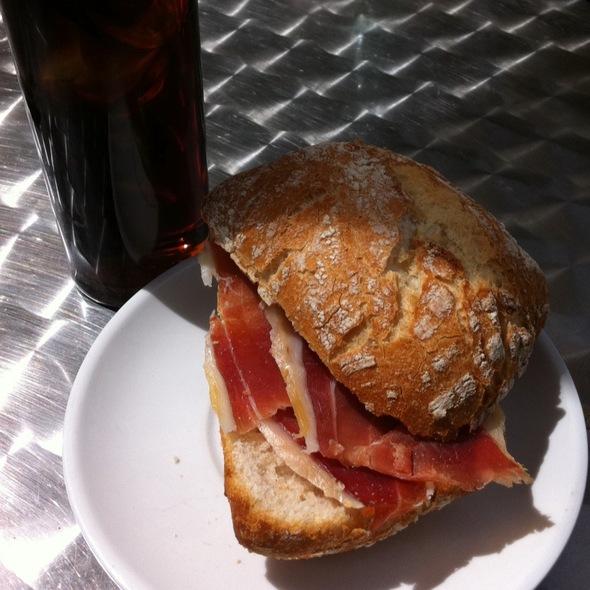 Tapa Iberian ham @ L&C