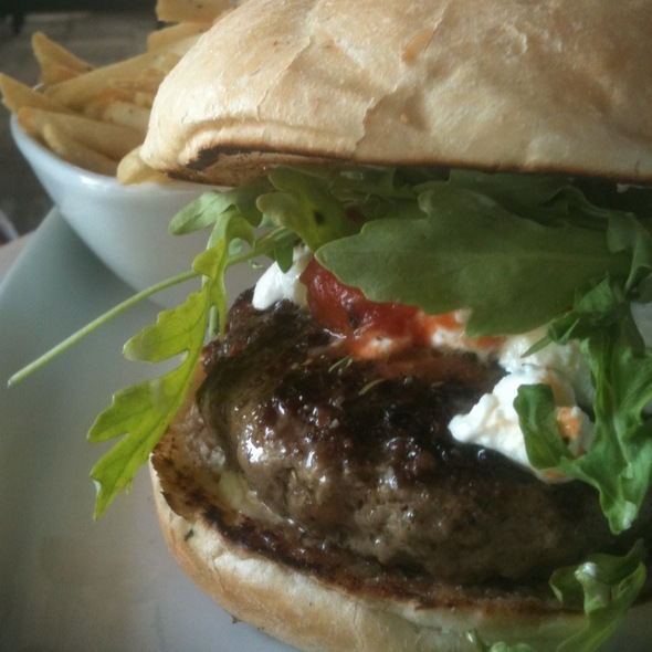 Lamb Burger - Harvest Kitchen & Lounge, Solon, OH