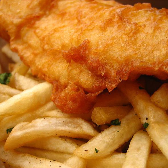 Frylander Fish and Chips @ Shrimp Pimp Truck
