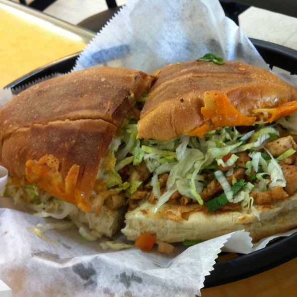 Chicken Torta @ La Vallesana