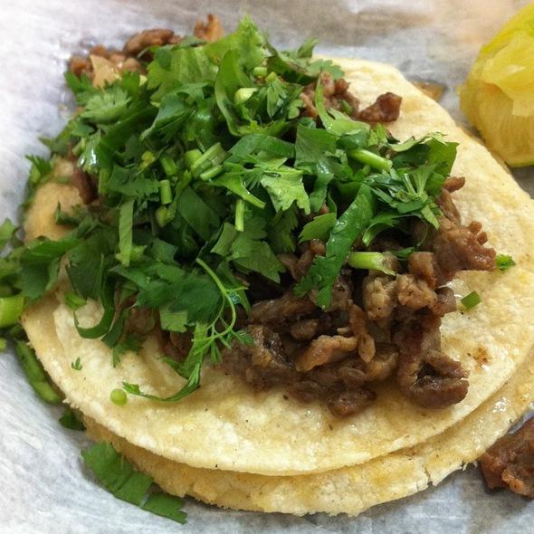 Tacos Carne Asada De Res