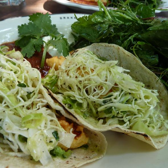 fish tacos - Drake Hotel, Toronto, ON