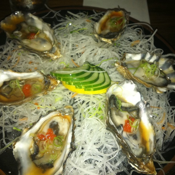 Oysters @ Blue Ribbon Sushi Bar & Grill