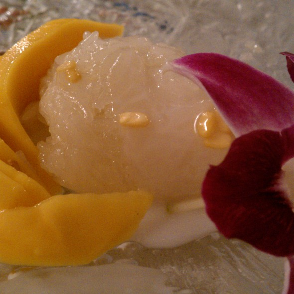 Mango Sticky Rice @ Marnee Thai Restaurant