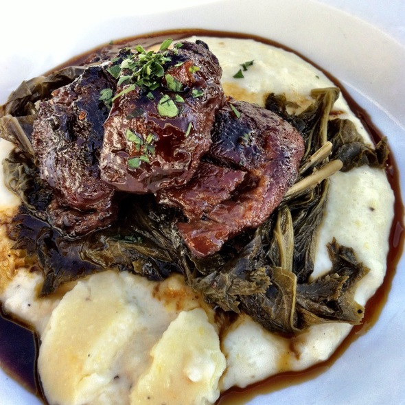 Braised Pork Cheeks - Meritage at the Claremont, Berkeley, CA