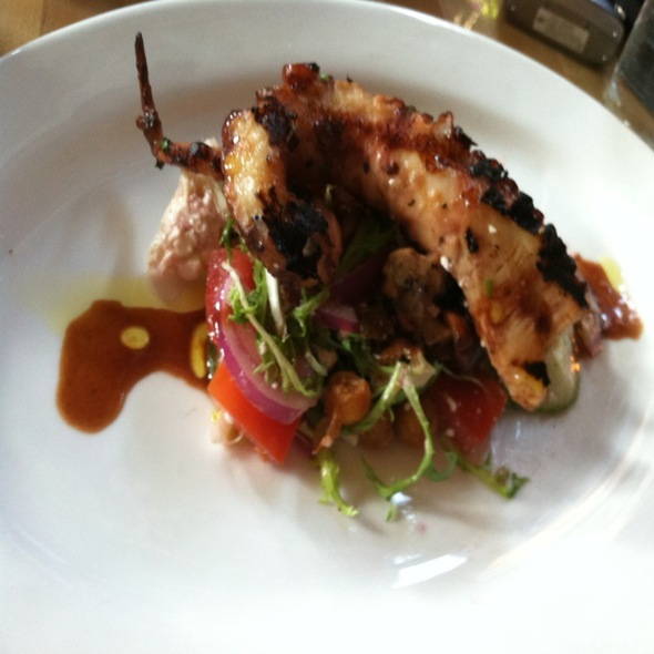 Charred Spanish Octopus @ Market Table