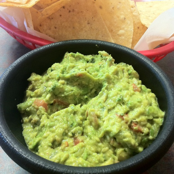 Chips And Made On Order Guacamole