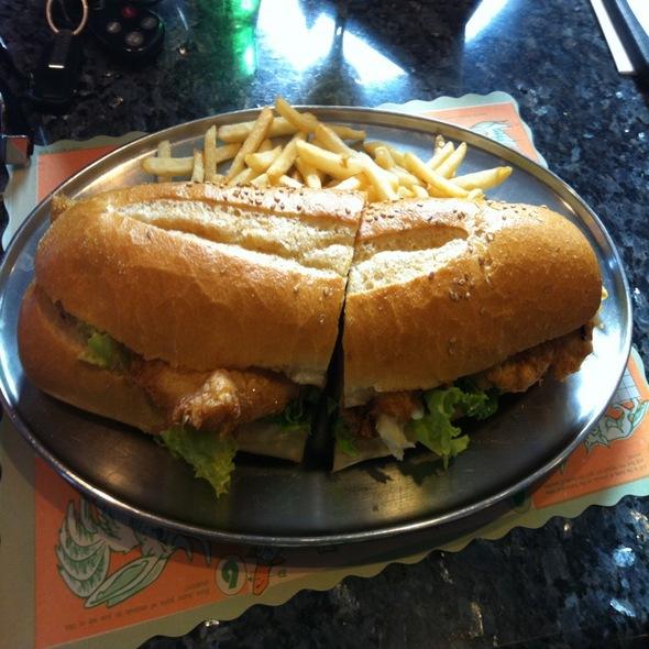 Portugal express menu elizabeth nj foodspotting for Fish burger near me