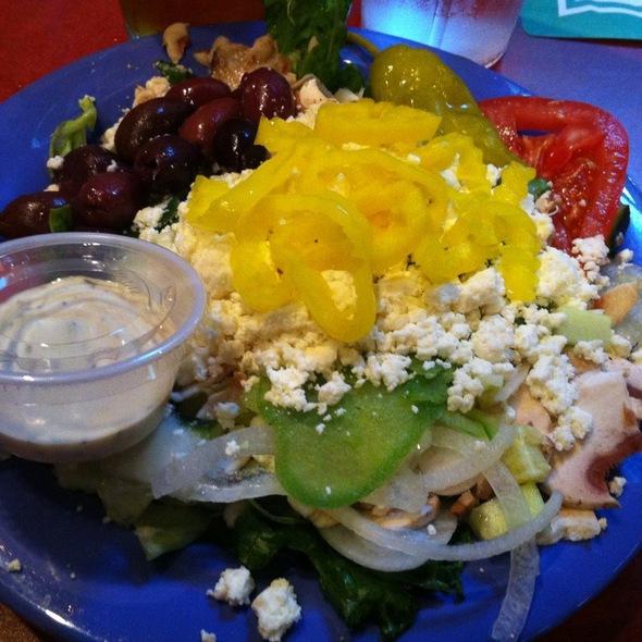 Greek Salad @ Mellow Mushroom Pizza Bakers