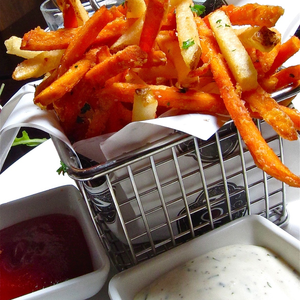 FRENCH FRIES - Garlic herb aioli, kinda like ranch