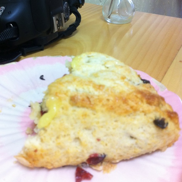 cranberry scone @ Tartine