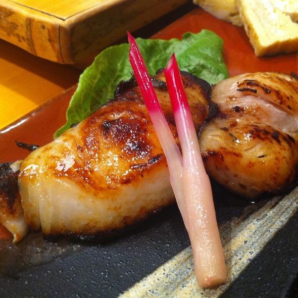 Broiled Cod In Sake Paste @ Murata Restaurant