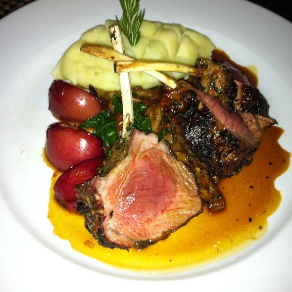 Rack of Lamb - PAON Restaurant & Wine Bar, Carlsbad, CA