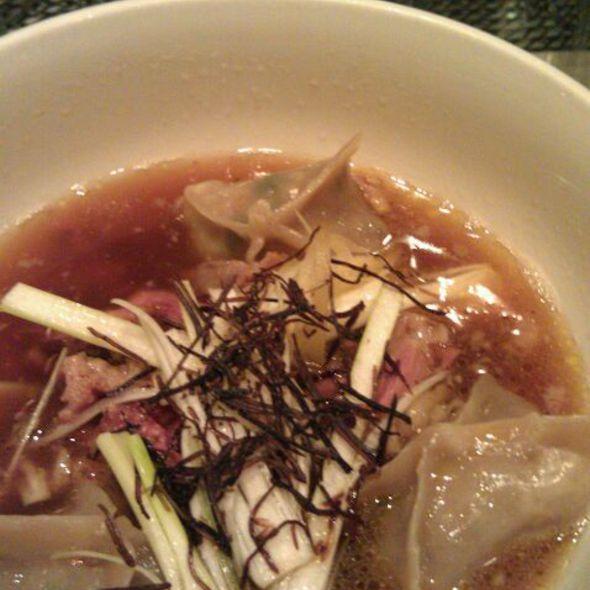 Braised Oxtail Dumplings @ Momofuku Ssam Bar