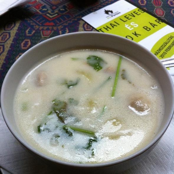 Tom Ka Koong Soup