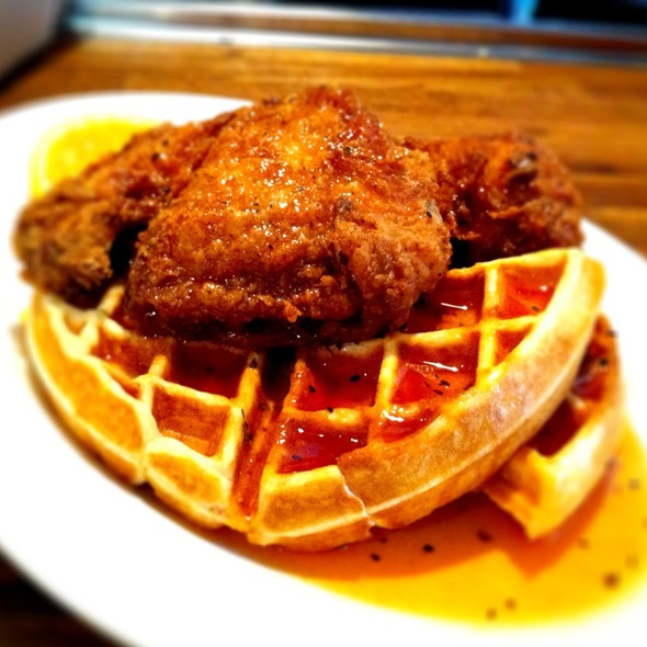 Fried Chicken and Waffles @ Stockyards Ltd The