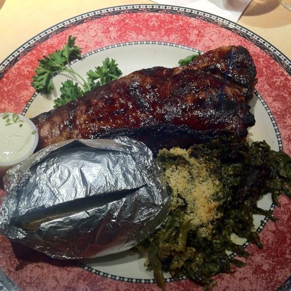 Ny Sirloin Steak - Frank's Steak House, Cambridge, MA
