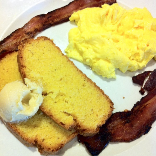 Cornbread Breakfast Combo @ Brunch Cafe Fox River Grove