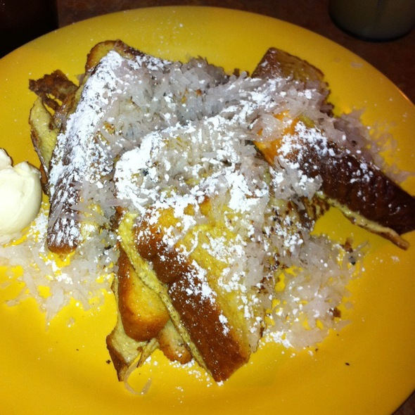 Coconut Sweetbread French Toast @ Kountry Kitchen