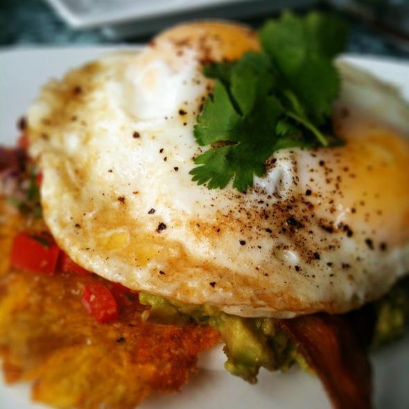 Egg Rancheros - Origin Restaurant, Toronto, ON