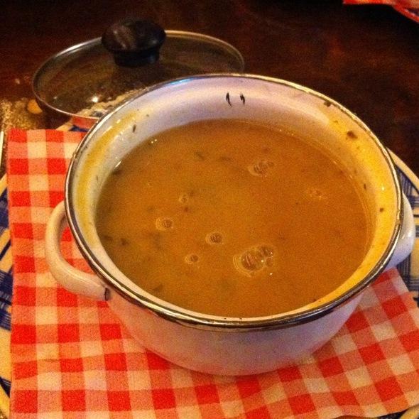 Mushroom soup @ Restaurant Moeders