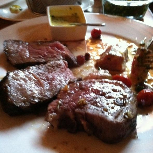 porterhouse steak @ david burke kitchen