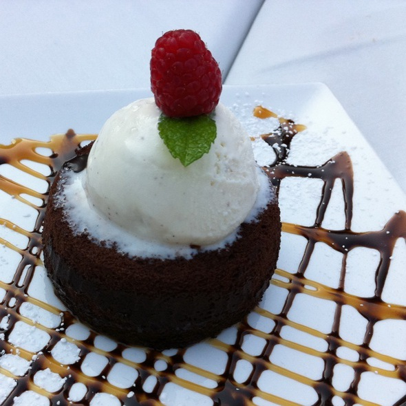 Molten Chocolate Cake - Twisted Vine Bistro, Fort Myers, FL