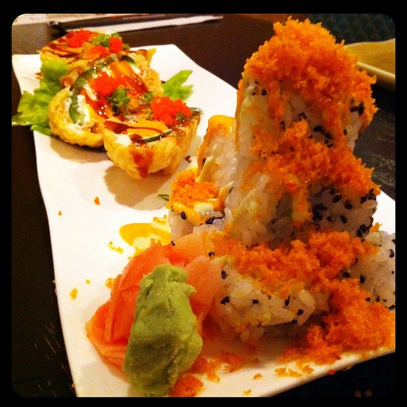 Volcano Roll And Heart Attack Roll @ Sushi Ya Japanese Cuisine