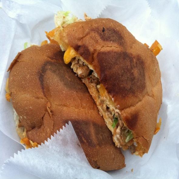Chicken Torta @ La Vallesana