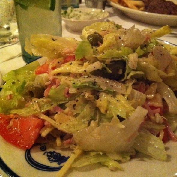 "Original ""1905"" Salad - Columbia Restaurant - SandKey, Clearwater, FL"