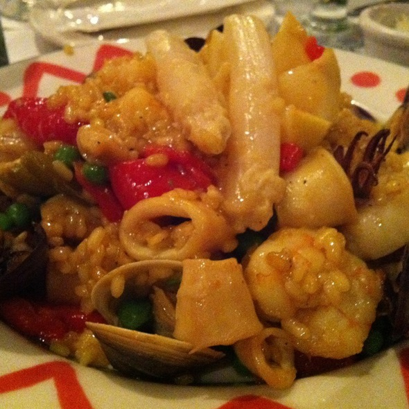 Seafood Paella - Columbia Restaurant - SandKey, Clearwater, FL