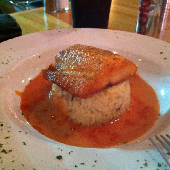 Salmon Rice @ Lola