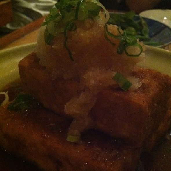 Curry Tofu @ Takahachi Restaurant
